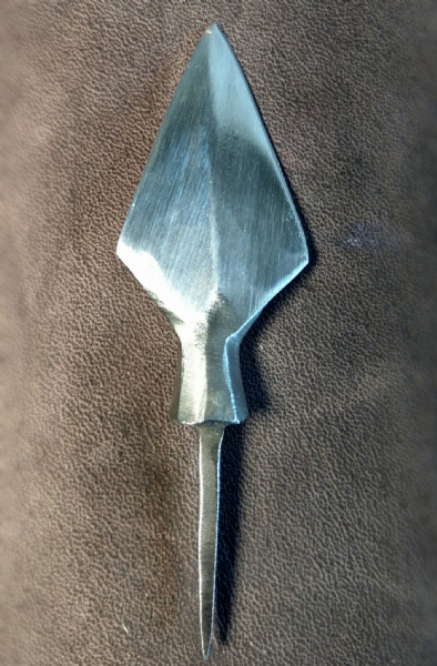 Viking Tanged arrow head by  `HECTOR COLE`